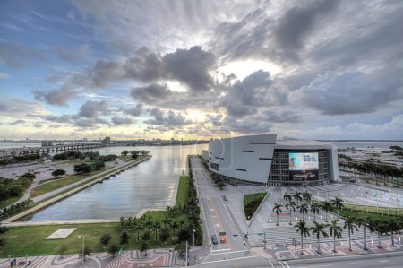 Photo pour American Airlines Arena à Miami, Floride - image libre de droit