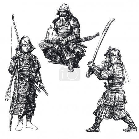 Japanese warrior - samurai