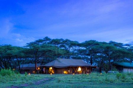 A Safari Campsite