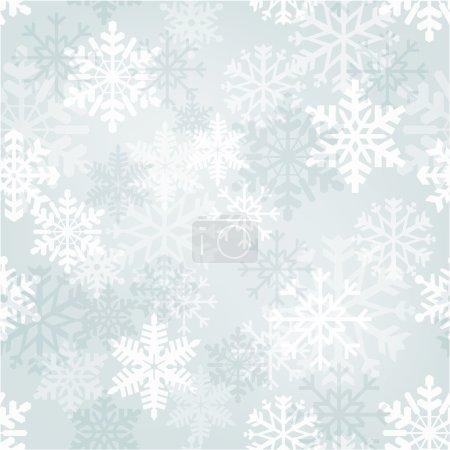Illustration pour Modèle sans couture vectoriel d'hiver - image libre de droit