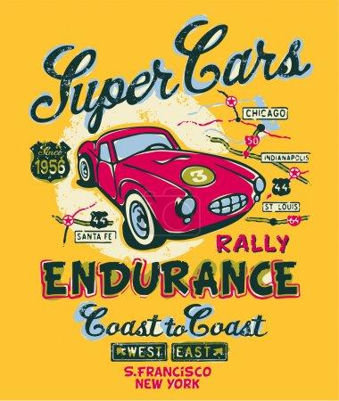 Coast to coast rally