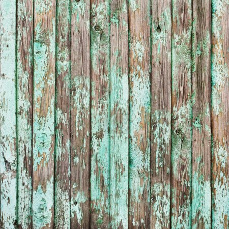 Old Shabby Wooden Planks with Cracked Paint, background