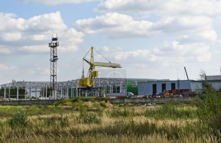 Construction of a logistics park