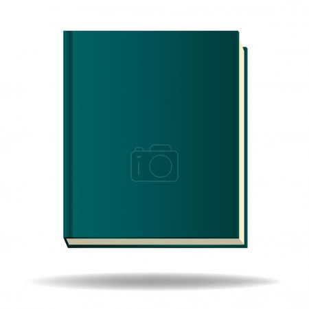 Illustration for Book isolate on white background vector - Royalty Free Image