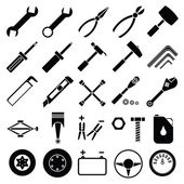 Auto Mechanic Tools set vector
