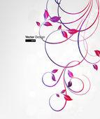 Summer retro floral bright background for vintage design Vector