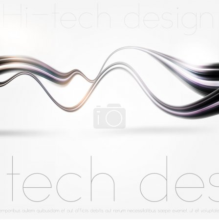Technology web background