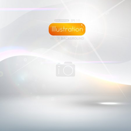 Photo pour Fond vectoriel abstrait pour la conception de la technologie ou pour les présentations - image libre de droit