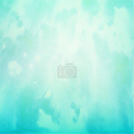 Illustration pour Fond abstrait de couleur douce pour le design. Effet texture aquarelle. Eps 10 vecteur . - image libre de droit