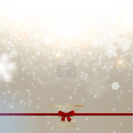 Elegant Christmas Blurred Background