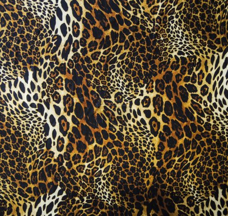 Photo for Leopard skin seamless background - Royalty Free Image