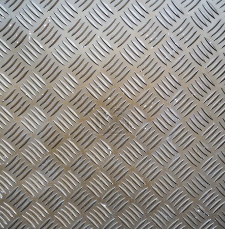 Photo for Metal ribbed surface - Royalty Free Image