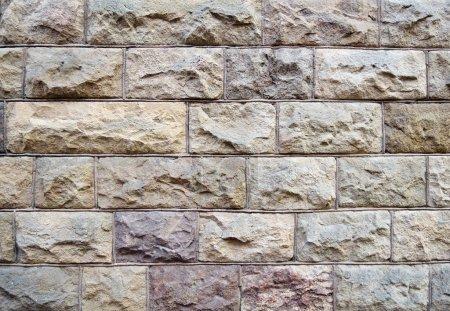 Photo pour Fond de texture de mur en pierre - image libre de droit