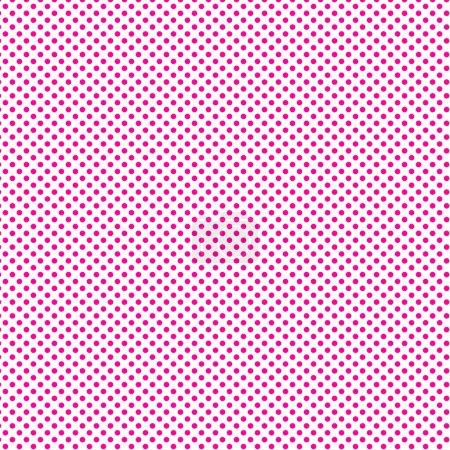 Pink polka dots pattern