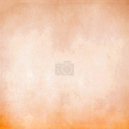 Photo for Orange pastel background - Royalty Free Image