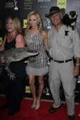 Debbie Gibson and Jack Hanna