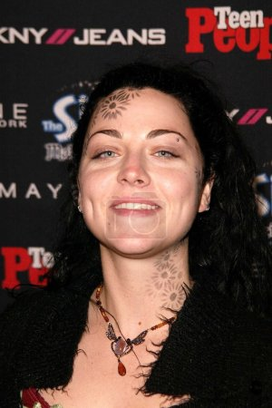 Photo pour Amy Lee de Evanesence at the Teen 2003 Artist Of The Year and AMA After-Party, Avalon, Hollywood, CA 16-11-03 - image libre de droit