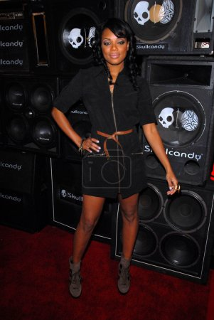 Tiffany Hines at the Skullcandy Launch of Mix Mast...