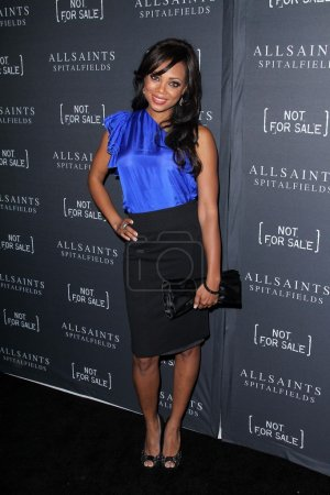 Tiffany Hines at the AllSaints Spitalfields and No...