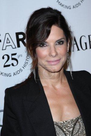Sandra Bullock at the amfAR Inspiration Gala, Chat...