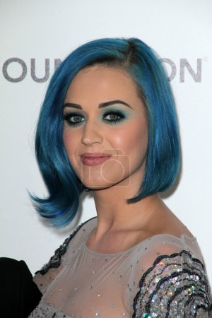 Photo for Katy Perry at the 20th Annual Elton John AIDS Foundation Academy Awards Viewing Party, West Hollywood Park, West Hollywood, CA 02-26-12 - Royalty Free Image