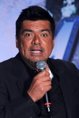 George Lopez at the KISS