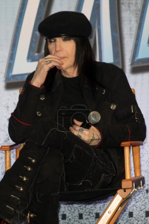Mick Mars at the KISS
