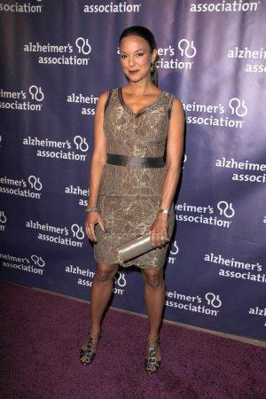 """Photo pour Eva La Rue au 20e anniversaire de l'Association Alzheimer """"Une nuit à Sardi"""", Beverly Hilton Hotel, Beverly Hills, CA 21-03-12 - image libre de droit"""