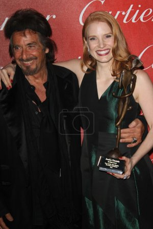 Al Pacino, Jessica Chastain at the 23rd Annual Pal...