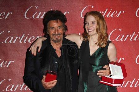 Al Pacino Jessica Chastain