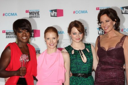 Viola Davis, Jessica Chastain, Emma Stone, Allison...