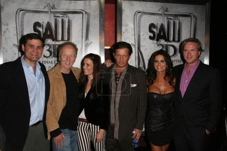 Tobin Bell, Shawnee Smith, Costas Mandylor, Betsy Russell and Cary Elwes
