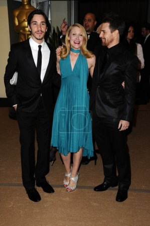 Justin Long Patricia Clarkson and