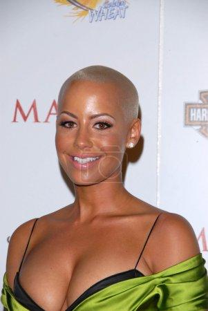 """Photo for Amber Rose at the 11th Annual MAXIM """"HOT 100"""" Party, Paramount Studios, Hollywood, CA 05-19-10 - Royalty Free Image"""