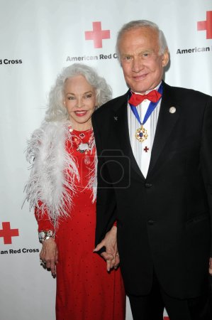 Lois Aldrin and Buzz Aldrin