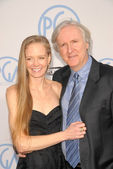 Suzy Amis and James Cameron at the 21st Annual PGA