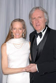 Suzy Amis and James Cameron at the 60th Annual ACE