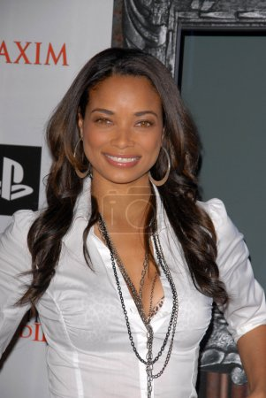 Photo for Rochelle Aytes at the MAXIM magazine and Ubisoft launch of Assassin's Creed II, Voyeur, West Hollywood, CA. 11-11-09 - Royalty Free Image