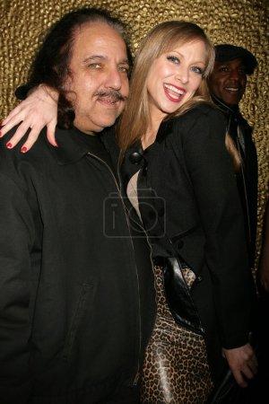 Ron Jeremy and Amanda Rushing