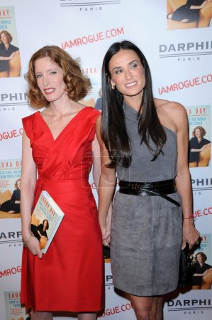 Laura Day and Demi Moore