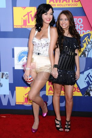Katy Perry and Miley Cyrus