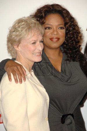 Glenn Close and Oprah Winfrey