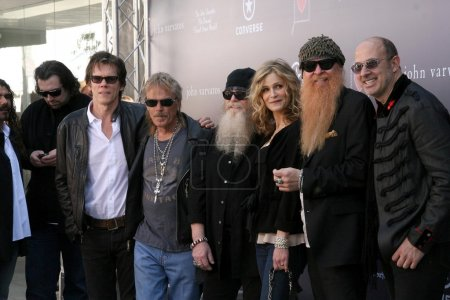 ZZ Top with Kevin Bacon and Kyra Sedgwick