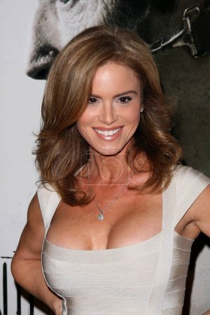 """Photo for Betsy Russell at the Los Angeles Special Screening of """"Saw V"""". Manns Chinese Six, Hollywood, CA 10-21-08 - Royalty Free Image"""