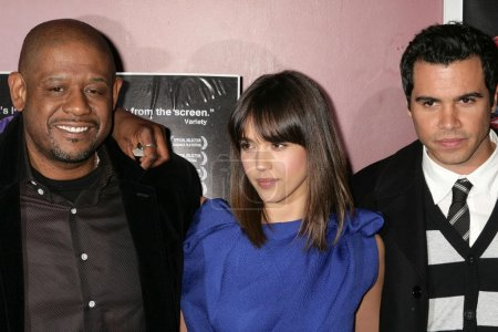 Forest Whitaker with Jessica Alba