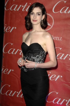 Photo for Anne Hathaway at the Palm Springs Film Festival Gala. Palm Springs Convention Center, Palm Springs, CA 01-06-09 - Royalty Free Image