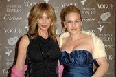 Rosanna Arquette and Patricia Arquette