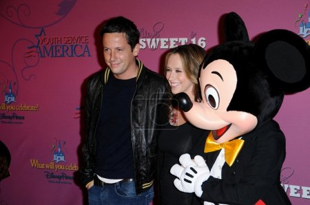 Ross McCall and Jennifer Love