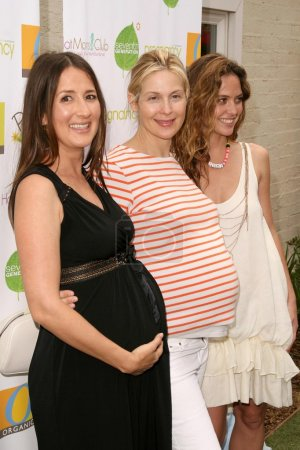 Anna Getty, Kelly Rutherford, Josie Maran