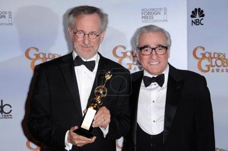 Steven Spielberg and Martin Scorsese